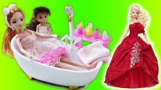 Đồ chơi trẻ em PHÒNG TẮM BÚP BÊ My My - Khám Phá Đồ chơi nhà tắm đẹp như mơ cho các bé #Namviet Kids