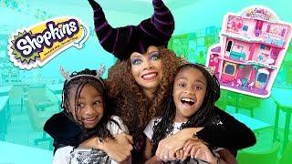 Toy Teacher Maleficent PRANKS Kids in Toy School! | Shopkins Super Mall Prank