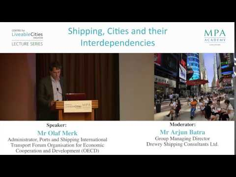 """Port cities as """"frontline soldiers of globalisation"""""""