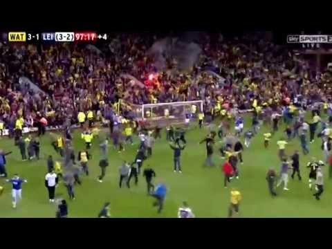 Watford vs Leicester - Insane moment in football