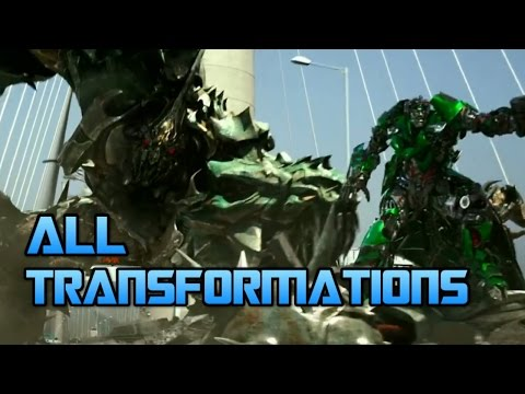 Transformers: Age of Extinction - All Transformations