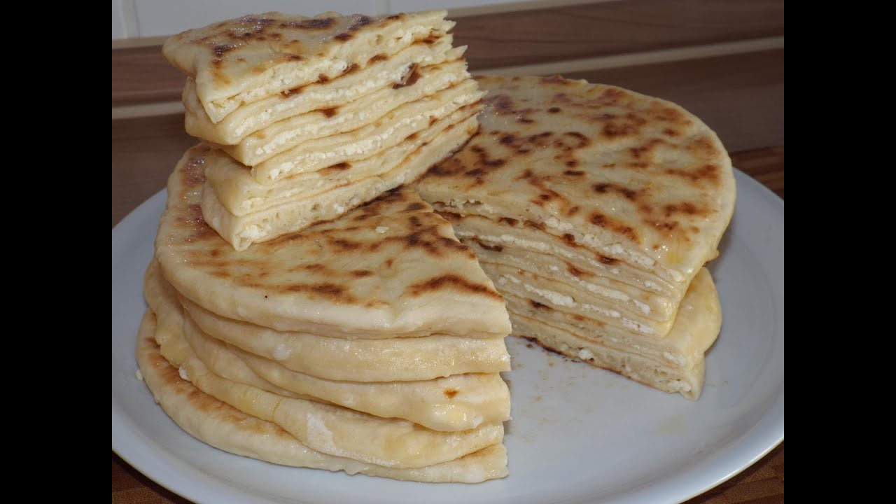 Лепешки с творогом чеченские рецепт с пошагово