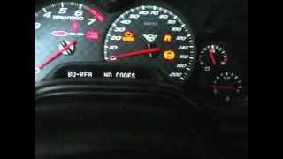 Corvette reading diagnostic codes on the instrument panel 97- 04 by froggy