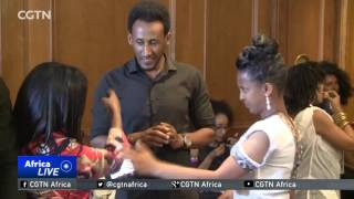 Models with disability strut their stuff on the catwalk in Ethiopia