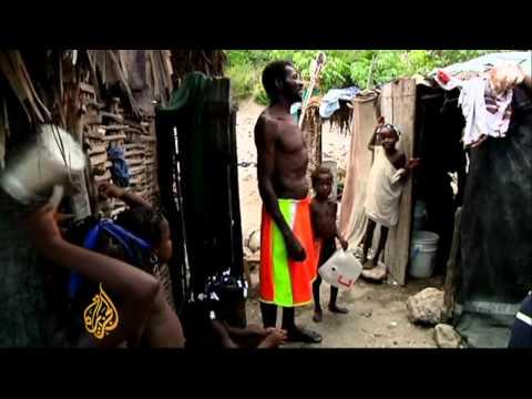 Hunger stalks Haitians