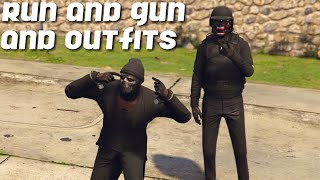 Making Outfits & Playing RNG TDMs | Free Aim | GTA V Online Gameplay (PS4)