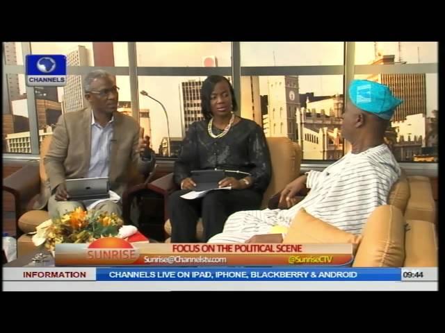 Ogunlewe, Igbokwe Say Buhari is APC's Strongest Presidential Candidate PT3
