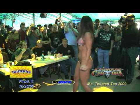 Twisted Tea Bikini Contest Cancun Cantina Finals10-25-09