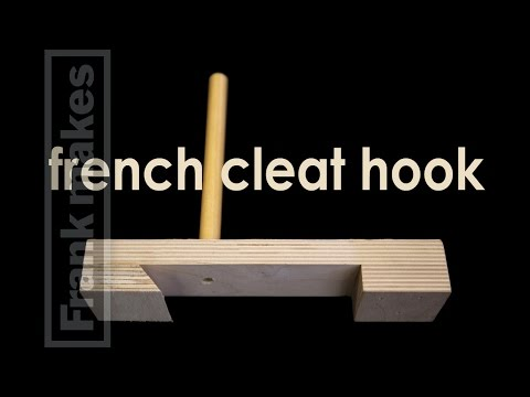 french cleat hook