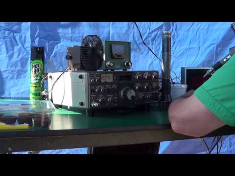 California QSO Party 2012 - WS6F Footage - Amateur Radio Club of El Cajon