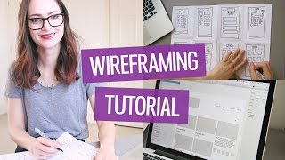 How to wireframe a website | CharliMarieTV