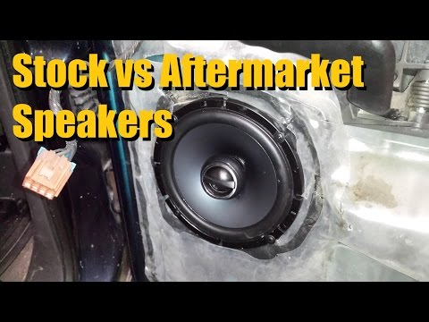 Stock vs Aftermarket Speakers   AnthonyJ350