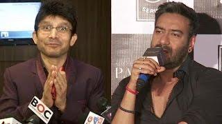 Ajay Devgn Reply To KRK- Karan Johar Controversy