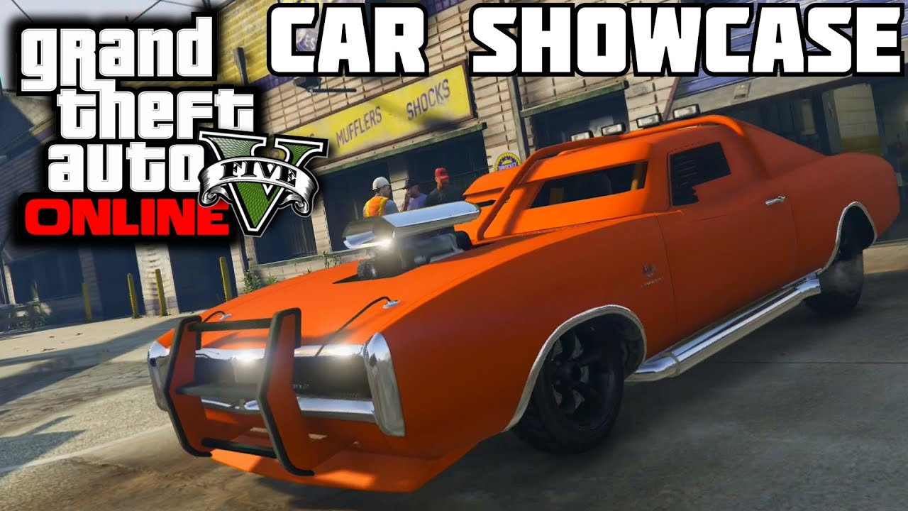 GTA 5 PS4 - Duke O' Death (Imponte) Car Showcase - YouTube