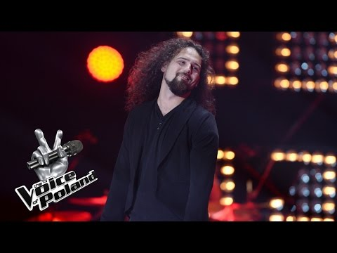 """The Voice of Poland VII – Tomasz Trzeszczyński – """"Jesus He Knows Me"""" – Przesłuchania w ciemno"""