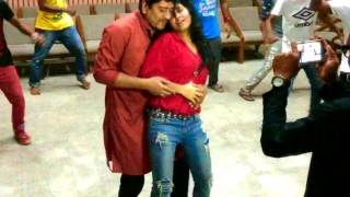 sexy Alisha Pradhan Dance on Shabnur song rehearsal with Amit