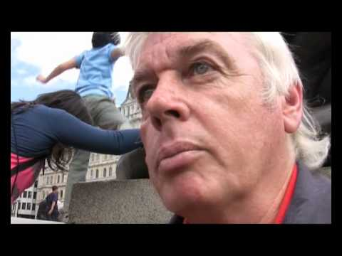 David Icke and Bill Maloney at UK Rally Against Child Abuse 2010