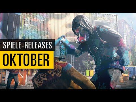 Spiele-Releases im Oktober 2020 | Für PC, PS4, Xbox One und Switch