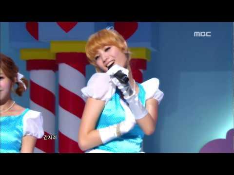 Orange Caramel : A-ing - 오렌지 캬라멜, 아잉, 쇼! 음악중심, 2010 12 04 - Mbc video