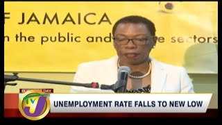 TVJ News Today: Unemployment Rate Falls to New Low - The Business Day - July 17 2019