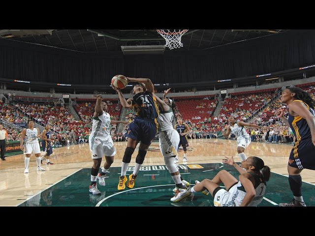 Tamika Catchings: 3rd Place All-Time Leading Scorer In WNBA History