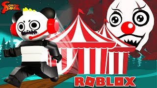 HALLOWEEN Horror Portals JOLLY'S CARNIVAL in ROBLOX ! Let's Play with Combo Panda
