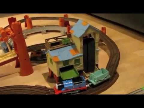 Thomas and Friends Trackmaster Village Sodor to Misty Island!