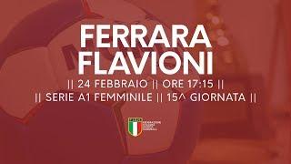Serie A1F [15^]: Ferrara - Flavioni 29-24