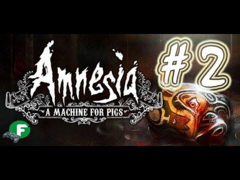 Amnesia A Machine for Pigs прохождение #2 ПК на русском языке