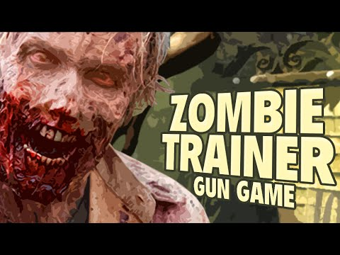 ZOMBIE TRAINING GUN GAME ★ Call of Duty Zombies Mod Zombie Games