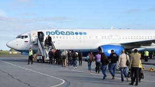 Полет на Boeing 737-800 Екатеринбург - Москва (Победа) - 737-800 Pobeda