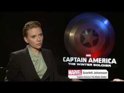 Marvel's Captain America: The Winter Soldier - Scarlett Johansson on Black Widow