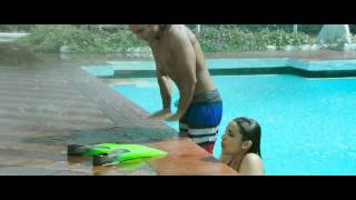 Parineeti Chopra hot kiss and pool scene from Kill Dil