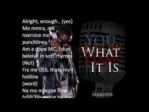Sarkodie - One Time For Your Mind video