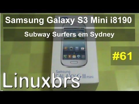 Gameplay Android Subway Surfers em Sydney Samsung Galaxy S3 Mini i8190