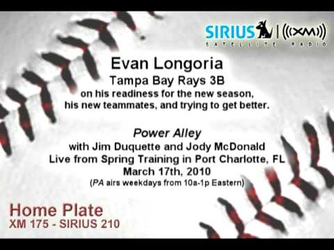 Evan Longoria, TB 3B, on season readiness, new teammates - Sirius|XM Video
