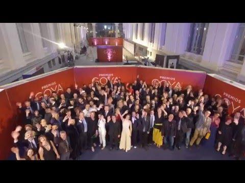 Foto de familia Nominados #Goya2016