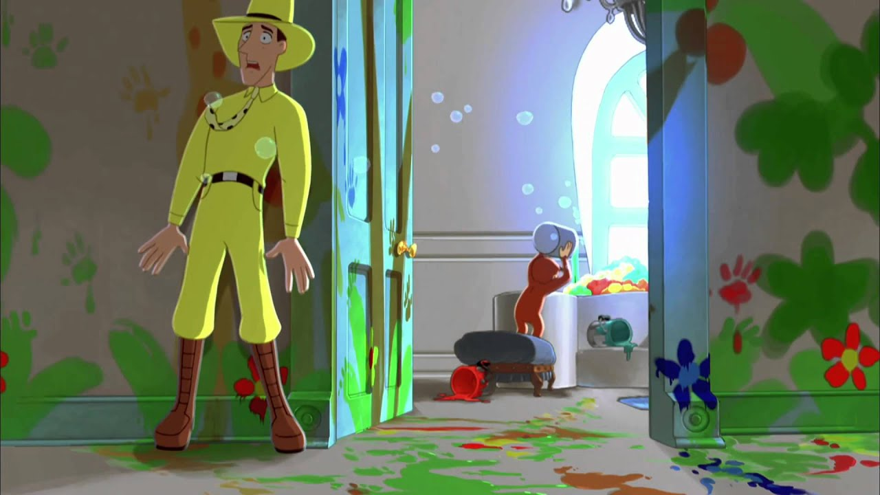 curious george trailer youtube