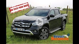 Essai du pick-up Mercedes X250D 4Matic BVA7 Power - Test drive