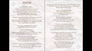 Frank Turner - Tell Tale Signs (lyrics)