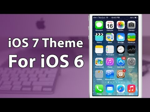 [Winterboard Theme] How To Make iOS 6 Look Like iOS 7
