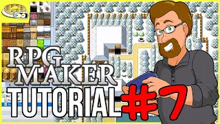 Creating TOWNS & VILLAGES | BenderWaffles Teaches - RPG Maker Tutorial HOW TO #7