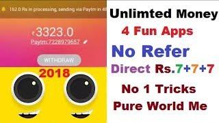 #No Root 4FUN UNLIMITED TRICK 2018|| 4Fun New Unlimited TRICK || 4Fun 100%