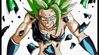 This New Form is the Key to Broly's Hidden Power. This is Ikari Broly.