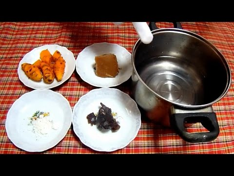 Cara Membuat dan Resep Jamu Kunyit Asam(Kunir Asem)