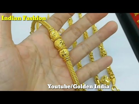 Latest Gold Necklace design With Weight and Price. | Gold Earnings Design | Sone ka Bhav |