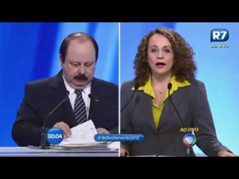 Levy Fidelix se diz contra aos homossexuais em debate da Rede Record