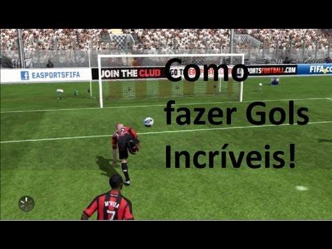 Fifa 13 Brasil - Ultimate Team - Como fazer gols (Bicicleta. Carretilha. Scorpion Kick e mais)