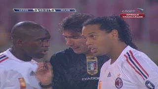 Ronaldinho vs Lecce Away 08-09