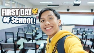 First Day of School in UST! (Philippines) | Maverick Del Mundo